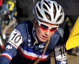 Pauline Ferrand Prevot races to eighth. © Bart Hazen