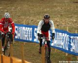 Preriding the course in Sankt Wendel on Friday
