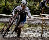 A bit of a muddy race for the racers at the British Columbia Championships. © Doug Brons