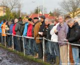 Large crowds lined the muddy part of the course at Centrumcross © Thomas van Bracht