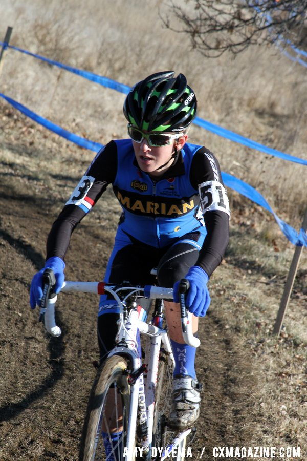 Antonneau Lead the Race Effortlessly After the First Lap ©Amy Dykema