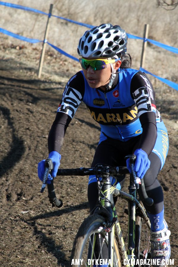 Rivera Lost Her First Lap Lead and Fought the Course The Entire Race ©Amy Dykema