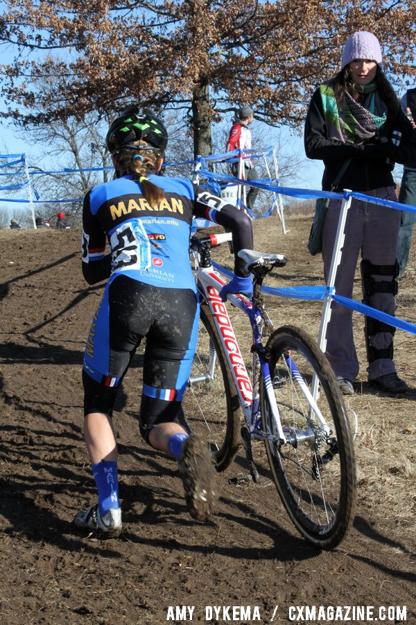 Antonneau Was Riding Clean Over the Barriers  ©Amy Dykema