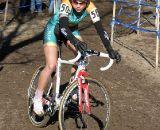 Collegiate Riders Were Slipping All Over the Course as it Thawed Out ©Amy Dykema