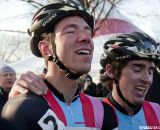 What a relief! Powers finally gets his stars and stripes jersey. © Cyclocross Magazine