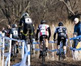 Pack racing, a rare sight this week. ©Cyclocross Magazine