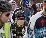 BrittLee Bowman focuses before the impending suffering. 2012 Cyclocross National Championships, Elite Women. © Cyclocross Magazine