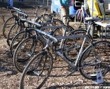 Moots demo bikes were avail for the unlucky (or lucky) racer who needed a spare. © Amy Dykema