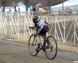 Scott Funston finished second on his flat bars in the Junior Men 10-12, 2012 Cyclocross National Championships. ©Cyclocross Magazine