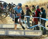 Everyone has their own carrying style. Junior men's 17-18 race, 2012 Cyclocross National Championships. ©Cyclocross Magazine