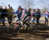 Spencer Downing from Boulder raced to 13th. Junior men's 17-18 race, 2012 Cyclocross National Championships. ©Cyclocross Magazine