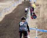 The warm temperatures led to a sticky, muddy course. © Cyclocross Magazine