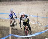 Allison Arensman on her way to a strong second place finish © Cyclocross Magazine