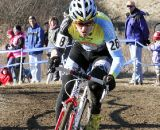 Myerson was satisfied with third in his first Masters race.  ©Amy Dykema