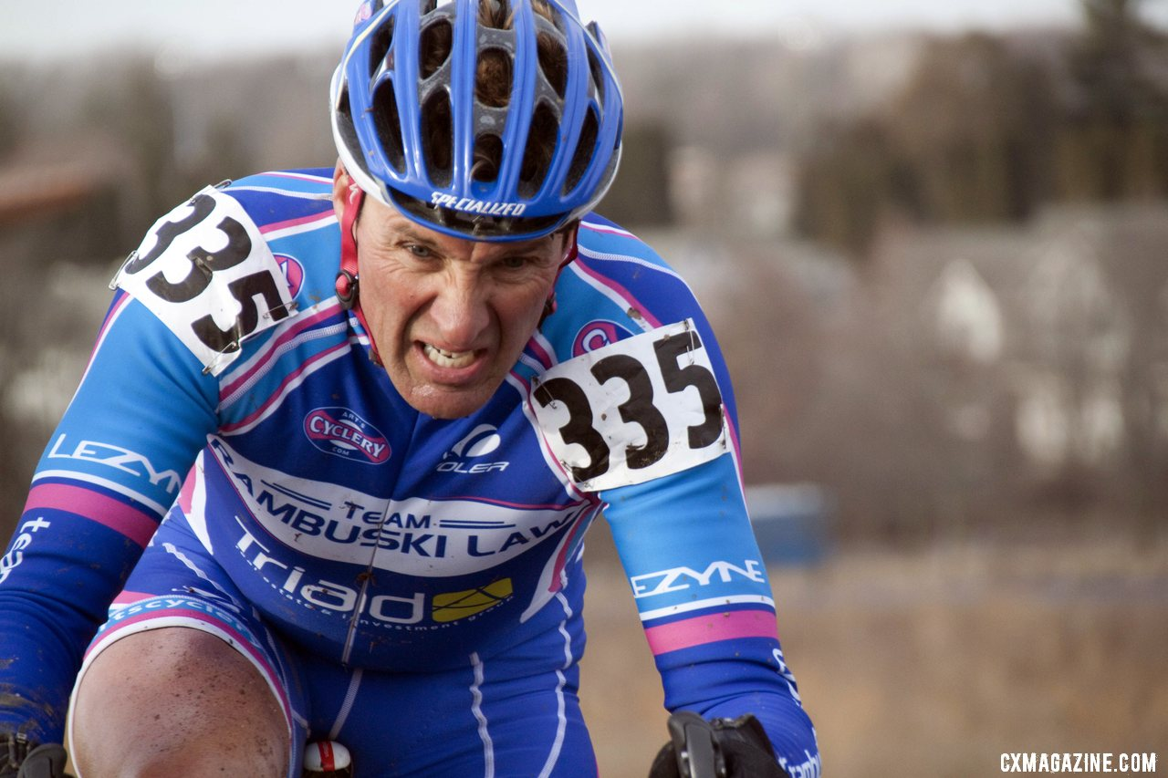 Edwin Rambuski (Rambuski Law) Of NorCal Was Right at Home in the Warmer Temperatures © Cyclocross Magazine
