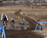 50-54 Men Snake and Finesse Their Way Up the Second Hill © Cyclocross Magazine