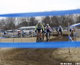 Tilford Was All In To Get the Holeshot © Cyclocross Magazine