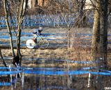 Curley winds around the course at the 2012 Cyclocross National Championships, Masters 55-59. © Cyclocross Magazine
