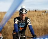 Jeff Tripp from Blue Steel Cyclery (Kathy Sarvary's bicycle shop) finished 37th in the Masters Men 55-59. © Tim Westmore
