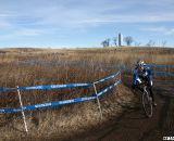 John Adamson railed the descent to finish fourth in the 65-69. © Cyclocross Magazine