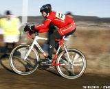 Planet Bike's Gordon Paulson took seventh in the 60-64 race.. © Tim Westmore