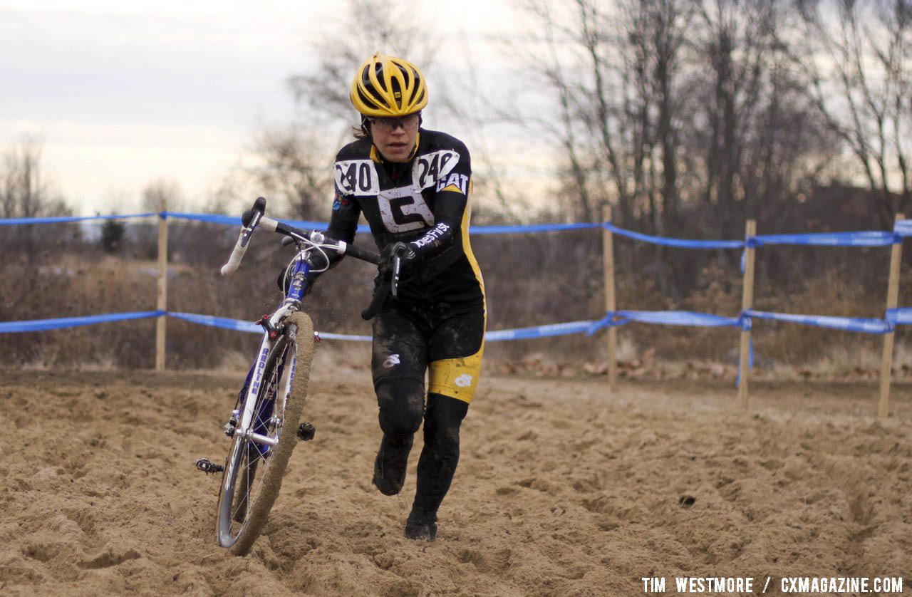 Anthony was predicted to finish 5th, but blasted through the mud and balmy conditions to finish 2nd. © C