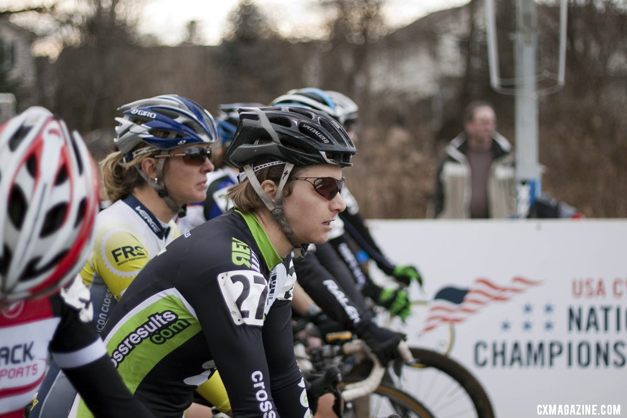 Ready to go: 2012 Cyclocross National Championships Masters Women 35-39. © Cyclocross Magazine