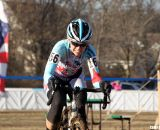 Kim Flynn chasing Sone. 2012 Cyclocross National Championships, Masters Women 40-44. © Cyclocross Magazine