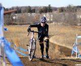 Sarvary cresting the second big climb. © Cyclocross Magazine