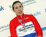 Junior Women's winner Annefleur Kalvenhaar