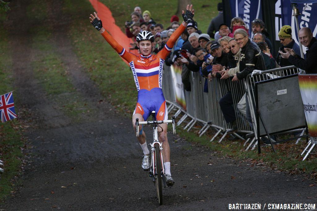 Juniors - Winner Mathieu van der Poel © Bart Hazen