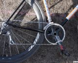 For cranks, Sarvary went with FS's SLK Light 10 speed carbon © Cyclocross Magazine
