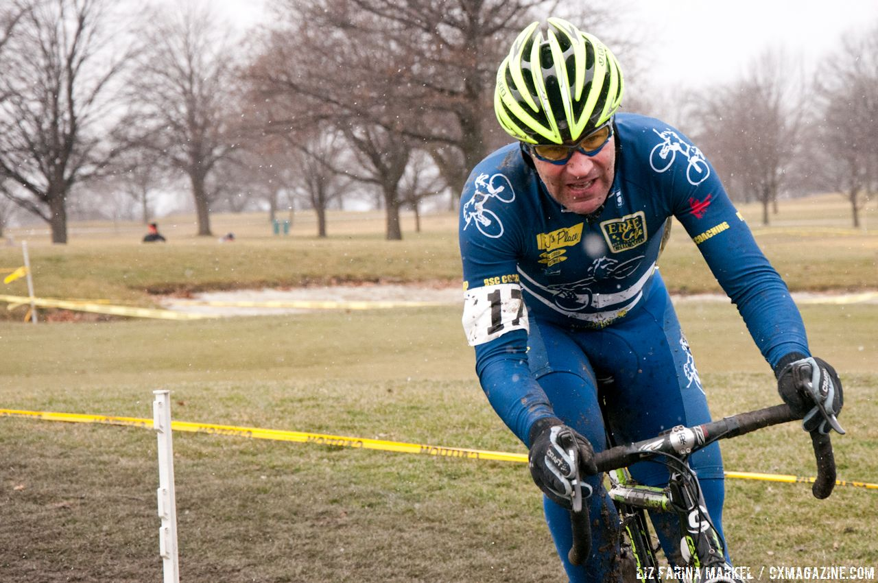 Chicago Cyclocross New Year\'s Resolution Race #2 © Liz Farina Markel