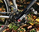Rotor Cranks with ovalized Q-rings were probably the biggest adjustment. ©Cyclocross Magazine