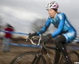 Lauri Webber racer stays focused. © Cyclocross Magazine