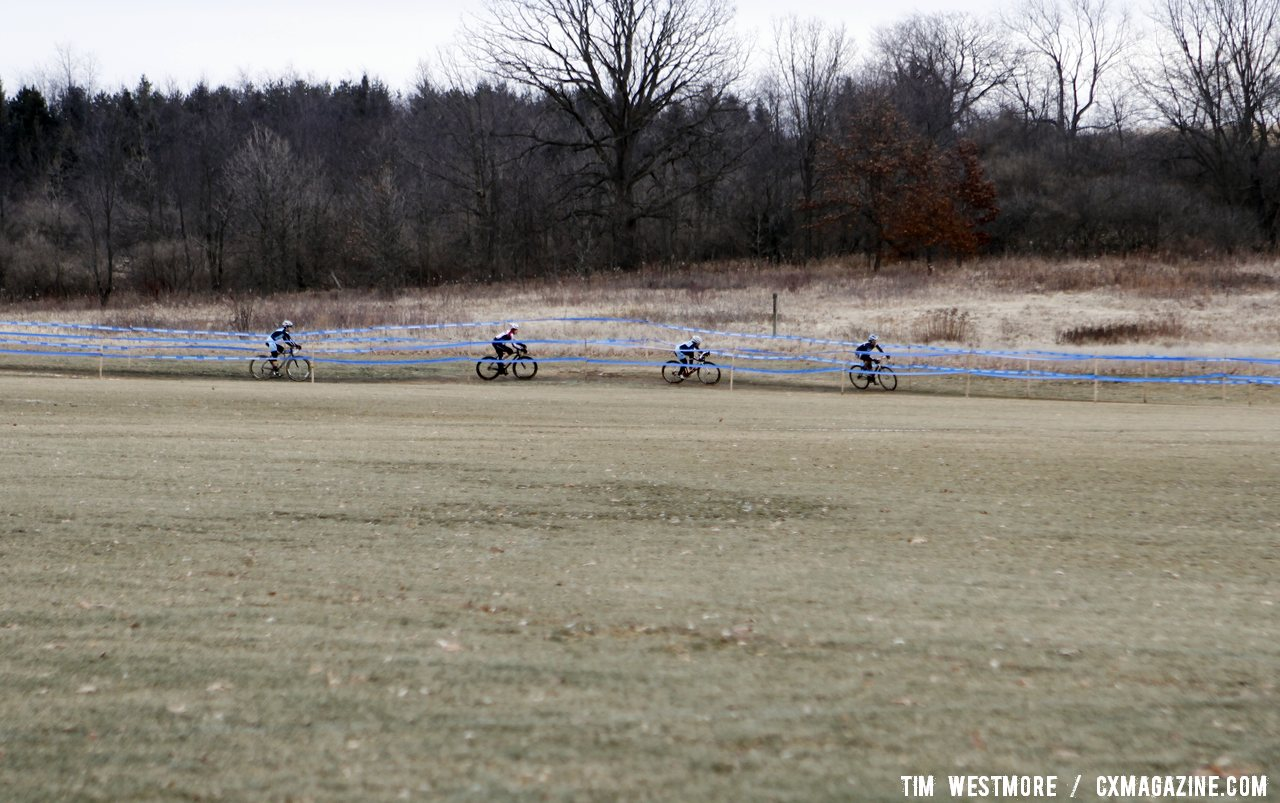 The leading four women off the front. © Tim Westmore