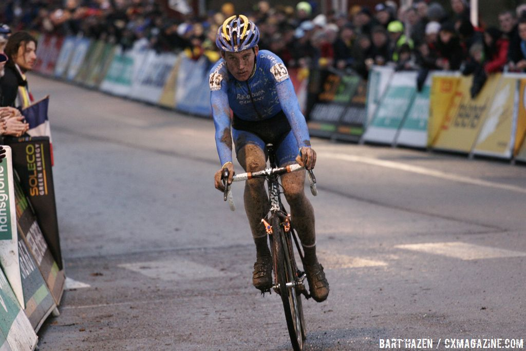 Mike Teunissen won Superprestige Diegem © Bart Hazen