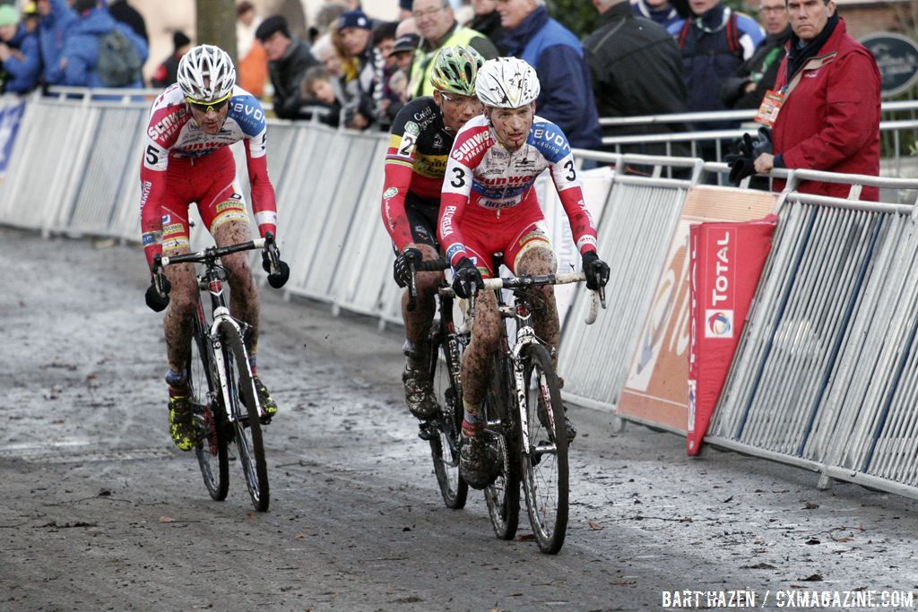Nys, Vantornout and Pauwels © Bart Hazen