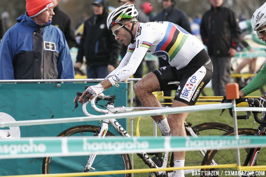 Niels Albert didn\'t have the legs today © Bart Hazen