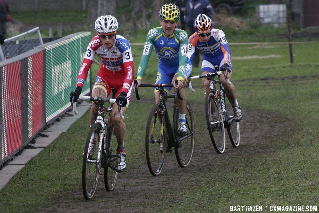 The chasers: Kevin Pauwels, Bart Aernouts, and Lars van der Haar © Bart Hazen