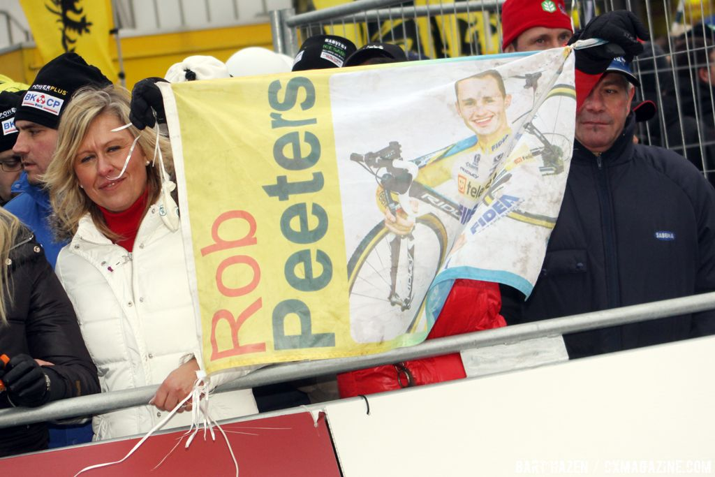 More fans of Rob Peeters © Bart Hazen