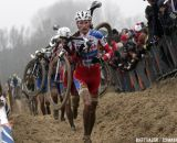 Vantornout and Pauwels looked strong before both crashed © Bart Hazen