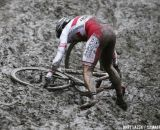 The mud claimed many victims today © Bart Hazen