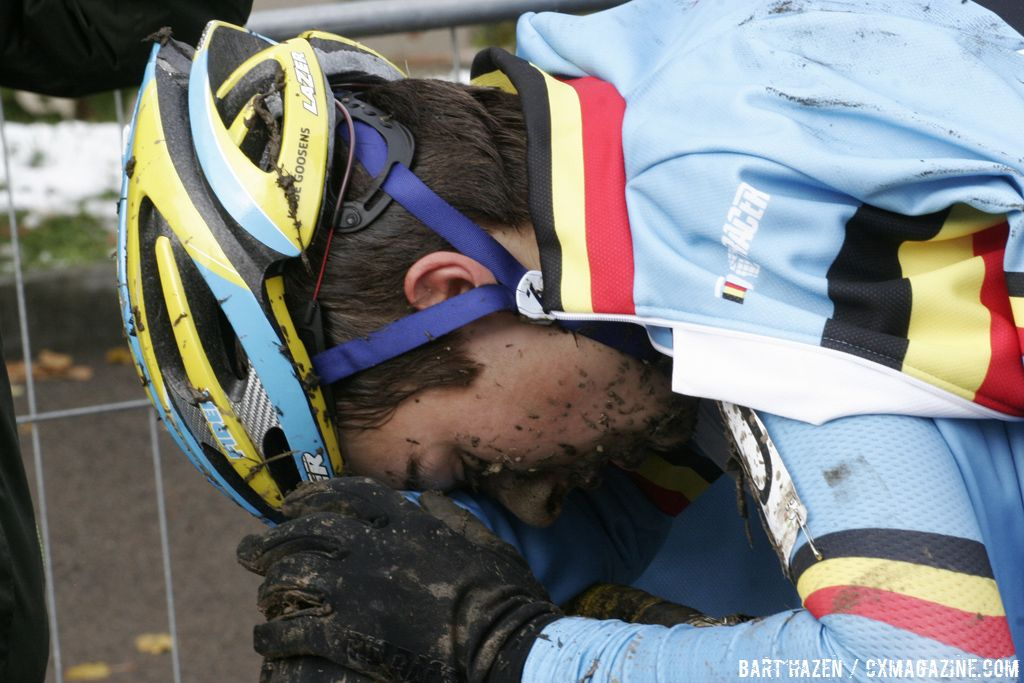 Riders gave their all on the Plzen course © Bart Hazen