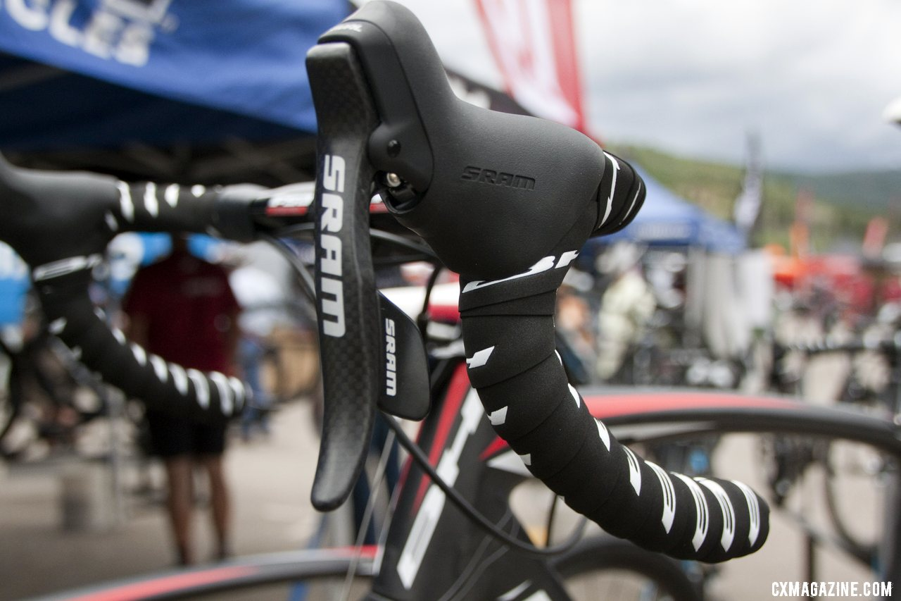 The SRAM Rival-equipped 2013 BH Bikes RX Team carbon cyclocross bike. © Cyclocross Magazine