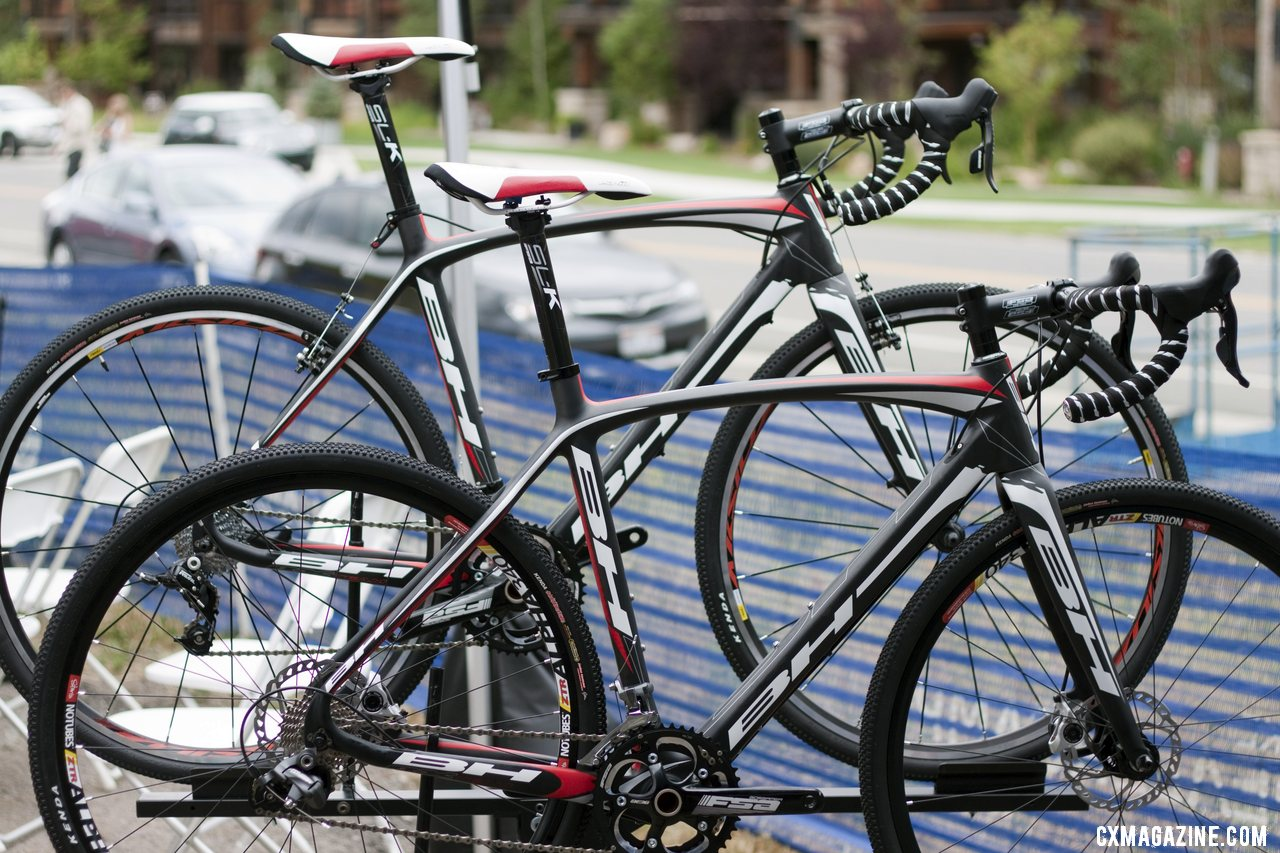 The two new 2013 BH Bikes RX Team carbon cyclocross bikes. © Cyclocross Magazine
