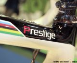 The Prestige line is designed with input from cyclocross legend Sven Nys, and the disc model is what Nys says he'll race. ©Thomas van Bracht