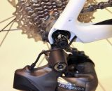 The Di2 internal cable routing has been modified from the 2012 configuration. ©Thomas van Bracht