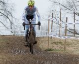 Kirsten Begg-Swider (Cycle-Smart Inc) chased, finishing just off the podium.  ©Brian Nelson