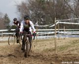 Alyssa Severn (My Wife Inc) on the only dry section of the course.   ©Brian Nelson